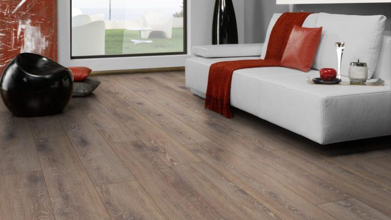 Ламинат Rooms Penthouse Дуб Беленный Тёмный R1213