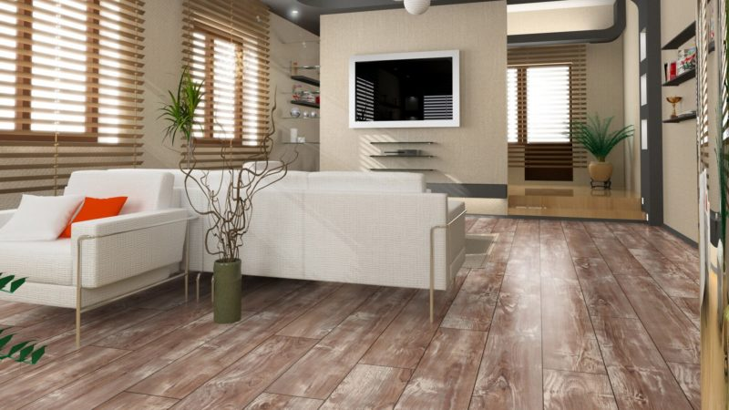 Ламинат Rooms Suite Тик Элегант RV806