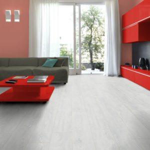 Ламинат Rooms Suite Дуб Беленный Белый RV811