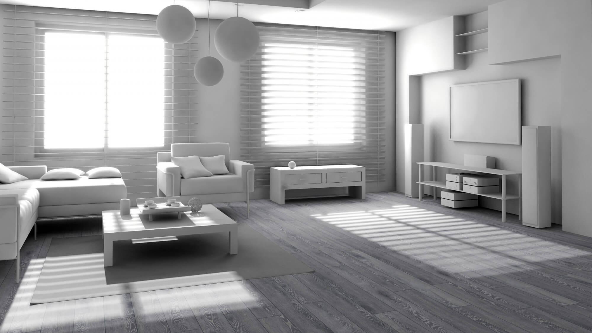 Ламинат Rooms Suite Дуб Беленый Серый RV812