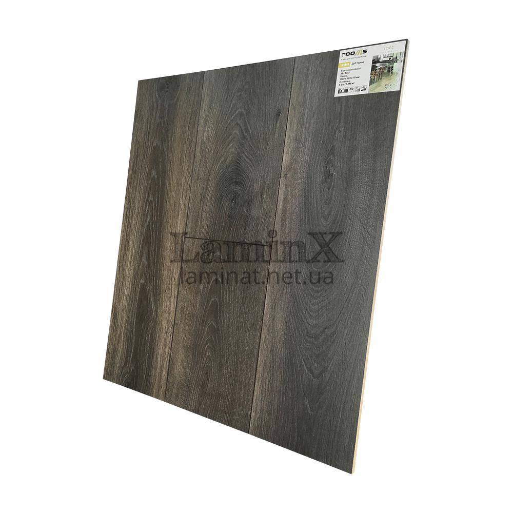Ламинат Rooms Loft Дуб Тёмный R1010